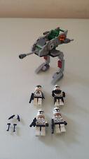 Lego Star Wars Clone Walker 8014 with 4 Mini Figures