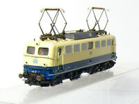 Roco 4136B H0 Dc Locomotive Électrique Br 140 323-7 De DB, Bleu/Beige , Ovp