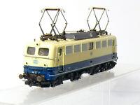 Roco 4136B H0 DC  Elektrolok BR 140 323-7 der DB , blau/beige , OVP