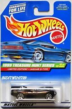 HOT WHEELS 1999  TREASURE HUNT LIMITED EDITION JAGUAR D-TYPE