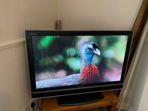 "Sony Bravia TV, model KDL-40V2500, 40"" Freeview TV with original remote control."