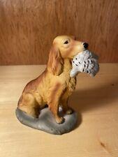 Irish Setter Figurine Porcelain Retriever Hunting Dog Statue