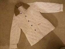 White Barbour Jacket Childrens