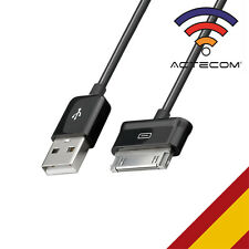 Actecom cable Carga-datos USB negro para Samsung Galaxy Tab 7.0 Plus P6200