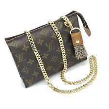 Louis Vuitton Vintage Clutch Bag Crossbody W Generic Optional Chain. US SELLER