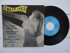 L'étrangère 45 EP French BOF OST Sergio Gobbi Romuald Funk Organ Nude PS