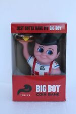 Collectible Frisch's Restaurants Big Boy Coin Bank with Hamburger- New in Box