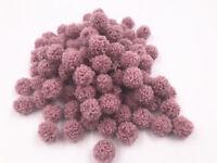 15mm ball lamb Hair ball 100pcs Mini Soft Fluffy Pompoms Ball Kids Handmade