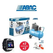 COMPRESSORE AD ARIA COMPRESSA ABAC - 8 BAR - 50 LITRI - 2850 RPM - L20 - 2 HP