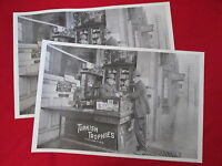 2 Tacoma WA Svea Hotel Cigar Tobacco posters Turkish Trophies Cigarettes vtg ads