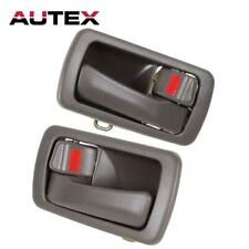 2 New Front Rear Left & Right Side Oak Inner Door Handle for 92-96 TOYOTA CAMRY