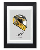 GUY MARTIN SIGNED HELMET POSTER PRINT PHOTO AUTOGRAPH GIFT MOTORBIKE MOTORCYCLE