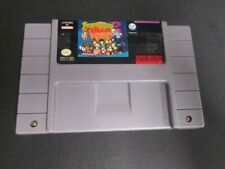 Lemmings 2: The Tribes (Super Nintendo SNES, 1994) Authentic Cartridge TESTED