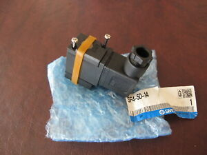 SMC SF4-5D-14 SOLENOID ASSEMBLY VALVE NEW