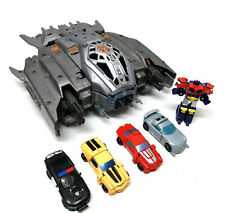 TRANSFORMERS Cyberverse ARK Spaceship toy Open Up Playset Ship plus Figures