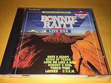 BONNIE RAITT cd LIVE USA hits HAVE A HEART uvam LOOSER nobodys girl RIVER TEARS