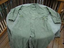 US Military Army Sateen Type 1 Coveralls Large - very good condition