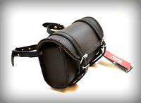 Sacoche de fourche / sac trousse à outils Cuir Rectangulaire Simple moto trike