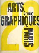 Arts et Métiers Graphiques 1932 n°28 lithographie de Rojankovsky