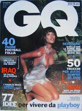 GQ-'03-NAOMI CAMPBELL,Eva Herzigova,Eric Bana,Fernanda Tavares,Claudio Ranieri