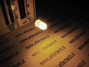 FOGGY 100 DIODI LED LEDS BIANCO CALDO 5mm  LUCE DIFFUSA + RESISTENZE A2B20.A2C48
