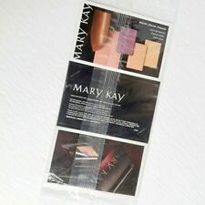 Mary Kay Sample Card Lot Of 5 NEUTRALS - Eyeshadow Blush Lipstick