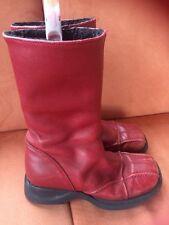 BAMBINI Italian Leather Boots Girls Size 33 Europe Size 1 British
