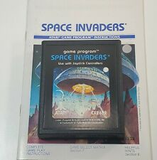 Space Invaders (Atari 2600, 1980) with manaul