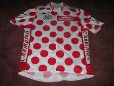 TOUR DE FRANCE 2003 POLKA DOT KOM NIKE ITALIAN CYCLING JERSEY [XL]