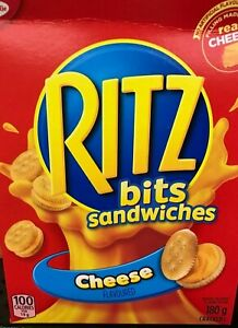 CHRISTIE RITZ BITS SANDWICHES CHEESE FLAVOURED - 180G-6.3oz MADE IN CANADA