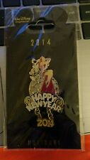 WDI Happy New Year 2014 Jessica and Roger Rabbit LE 250 Disney Pin