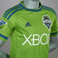 NWT Seattle Sounders FC adidas Jersey, Rave Green, Men Size Large MSRP $125.00