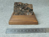 Wooden Base for Models, Wooden stand for Miniatures, Soldier, 99x98 mm
