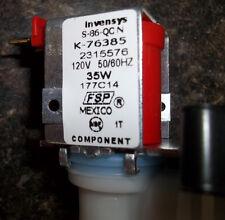 Invensys Single Solenoid Ice Maker Water Valve & water line K-76385 S-86-QCN