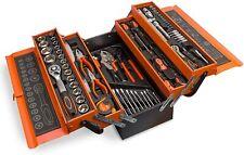 Cassetta degli attrezzi, 85 pezzi, in metallo cromo vanadio
