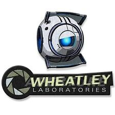 Portal Aperture Logo and Wheatley Collectible Patch 2-Pack - Officially Licensed