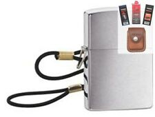 Zippo 275 lossproof loop and lanyard Lighter + FUEL FLINT WICK POUCH GIFT SET