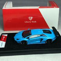 1/64 LB Works Liberty Walk Lamborghini Aventador LP700 Baby Blue Ltd 999 pcs