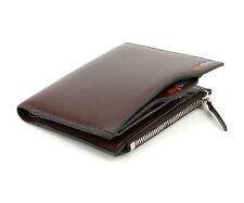 Men Luxury Leather Card Cash Receipt Holder Organizer Bifold Wallet Coin Pu F8J6