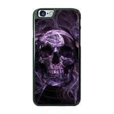 Smokey Purple Skeleton Skull Phone Case fits iPhone Samsung LG Google Moto etc