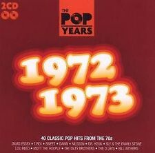 POP years -1972-1973 - 2 CD NUOVO-Isley Brothers argent Middle of the Road O 'Jays