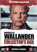 32 FILME DVD Wallander Collector's Box SCHWEDISCH  Henning Mankell NEU