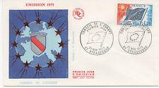 FRANCE 1975.F.D.C.CONSEIL DE L'EUROPE.OBLITERATION:LE 22/11/75 STRASBOURG