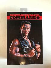 Neca 30th Anniversary Schwarzenegger Commando matrix Figure mega rare oop retro
