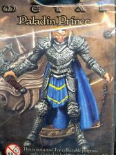 MAGE KNIGHT WZK 556 PALADIN PRINCE LIMITED EDITION METAL