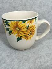 THOMSON POTTERY SUNFLOWER MUG