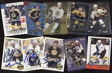 BOSTON BRUINS YOUNG GUNS ROOKIE JERSEY AUTOGRAPH NHL HOCKEY CARD SEE LIST