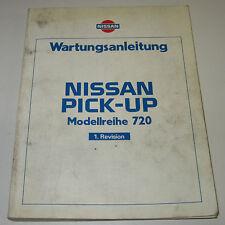 Werkstatthanbuch Nissan Pick-up 720 1. Revision Stand Juli 1983!