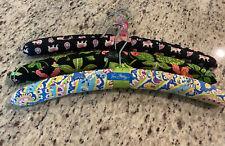 Vera Bradley Set Of 3 Retired Patterns Hangers Euc