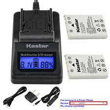 Kastar Battery LCD Fast Charger for Nikon EN-EL5 EL5 Nikon Coolpix P100 Camera